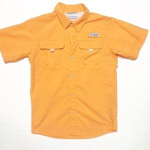 Columbia PFG Boys' Tamiami Short Sleeve Shirt EUC